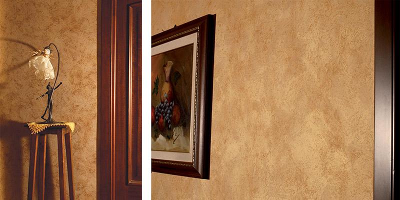 Декоративная краска с перламутром и жемчужными вкраплениями, 2 л